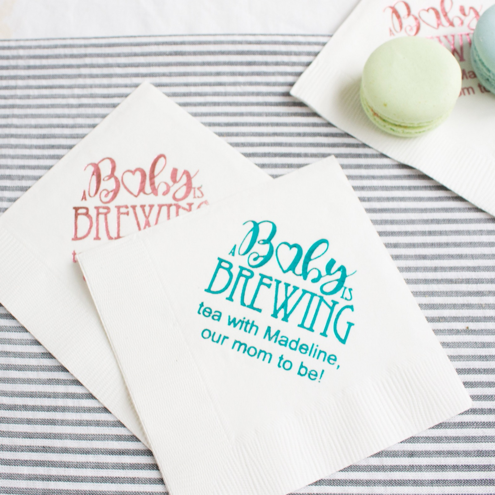 Personalized Exclusive Baby Napkins 7193