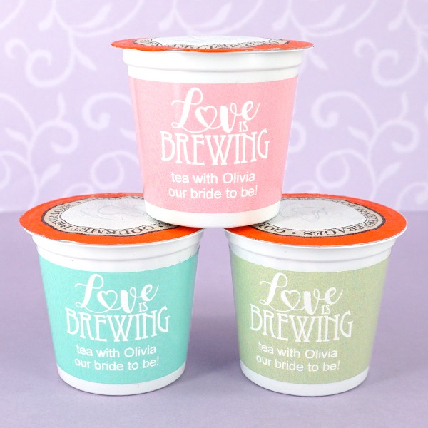 Personalized K-Cup Coffee Favors 7196