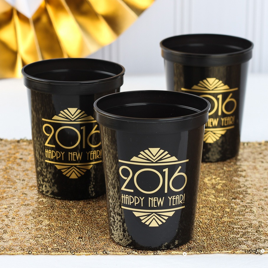 Personalized NYE Stadium Cups