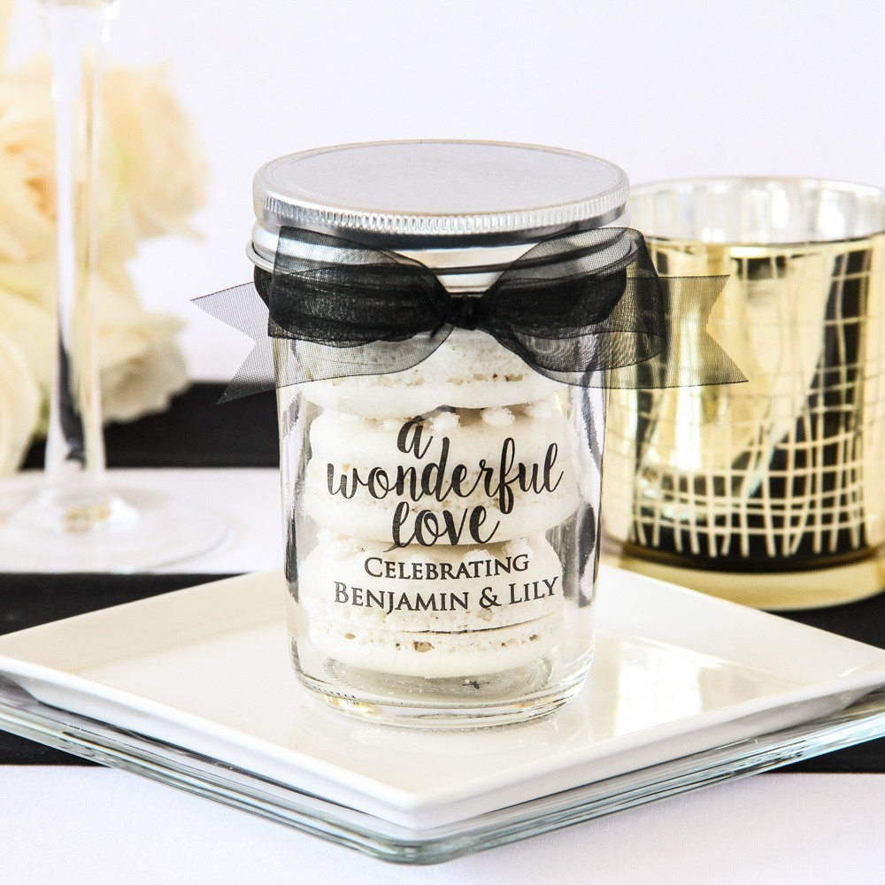Personalized Wonderful Love Mason Jar