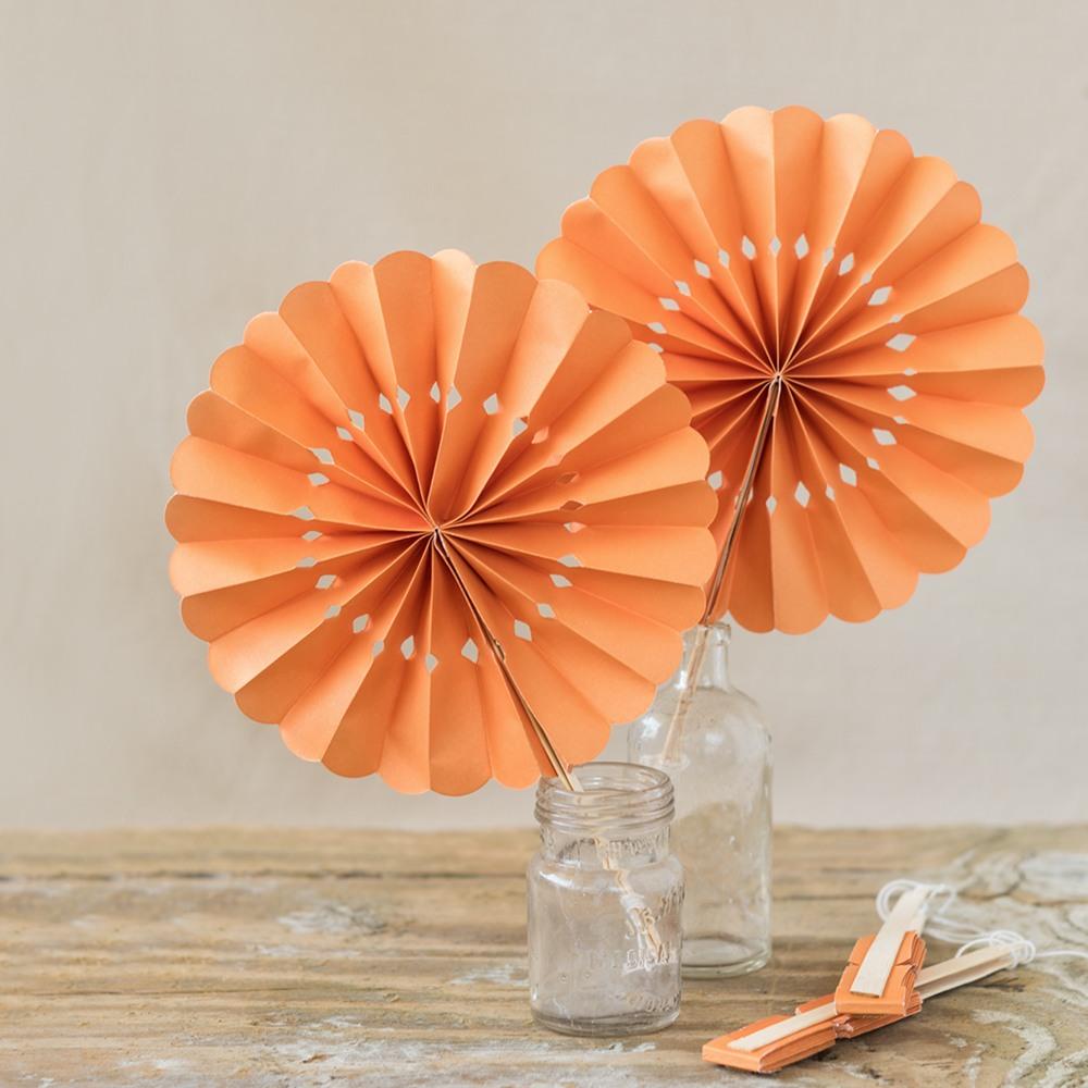 Pinwheel Paper Hand Fans 7465