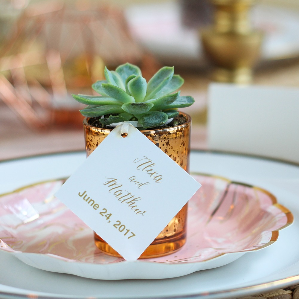 Personalized Modern Script Tag