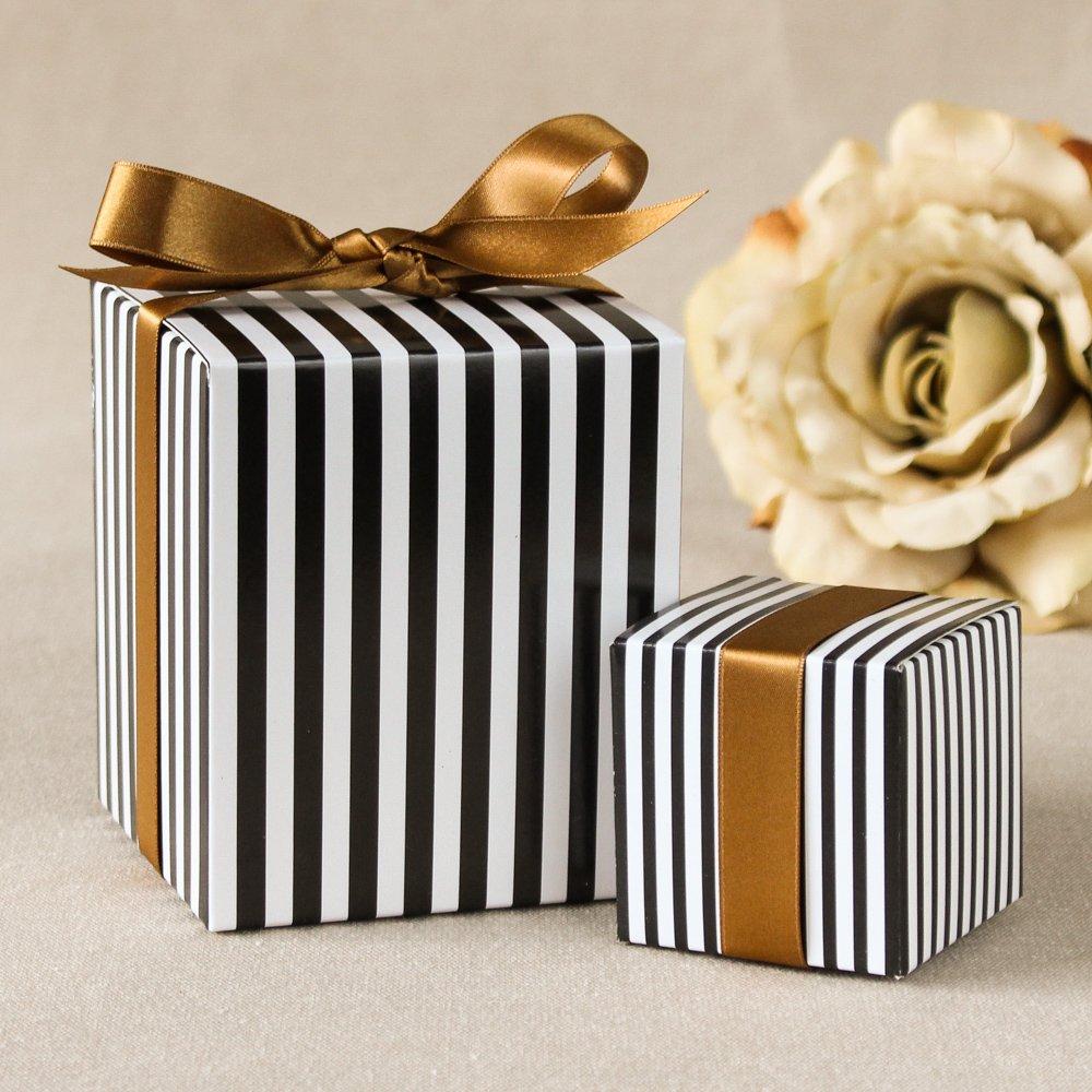 Striped Favor Boxes 7496