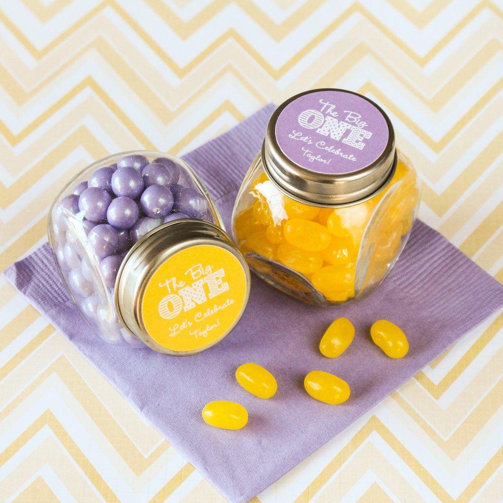 Personalized Milestone Candy Jar