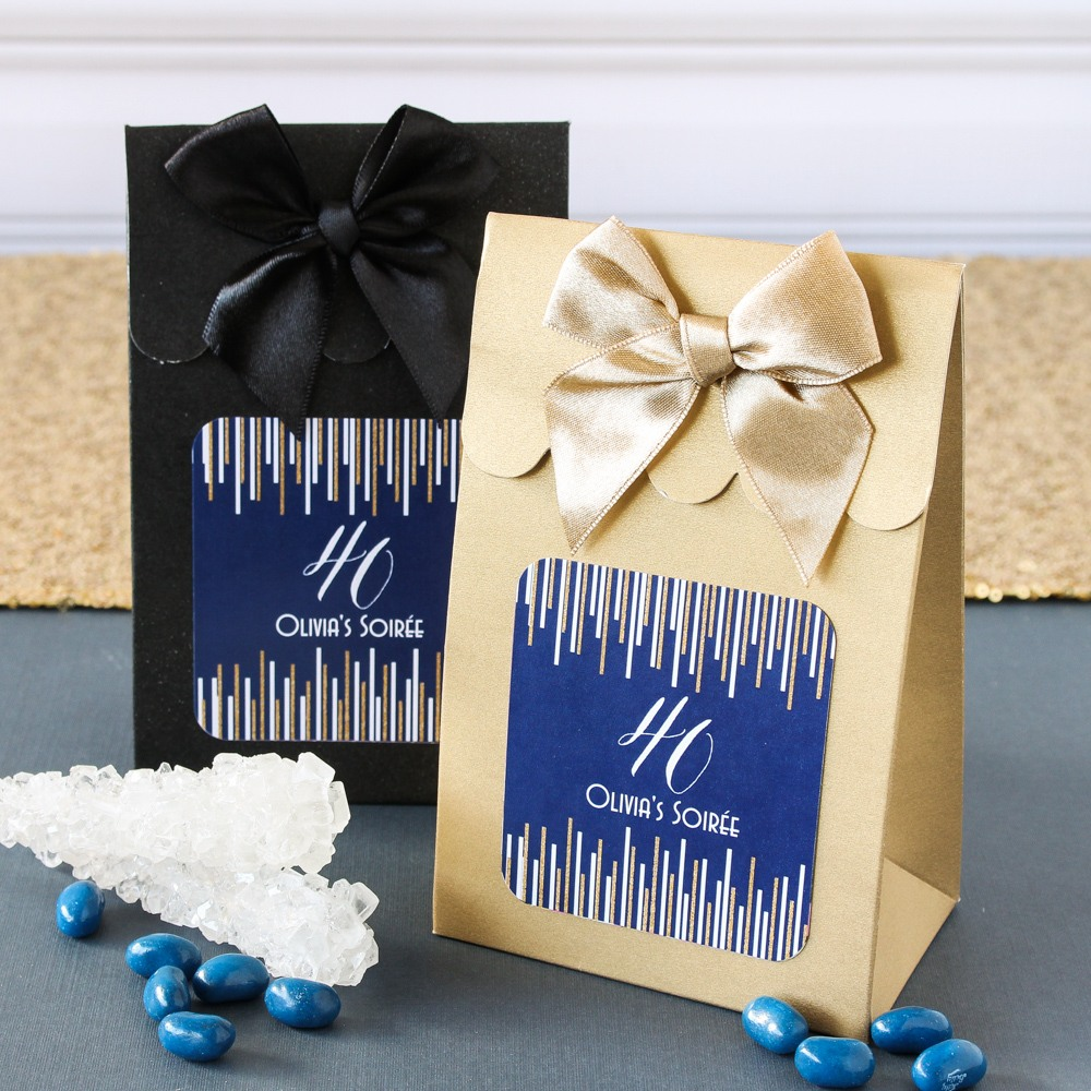 Personalized Milestone Candy Bags
