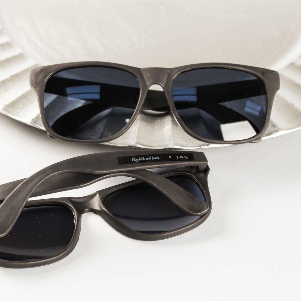 Personalized Black Sunglasses