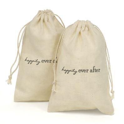 Themed Cotton Favor Bags 7612