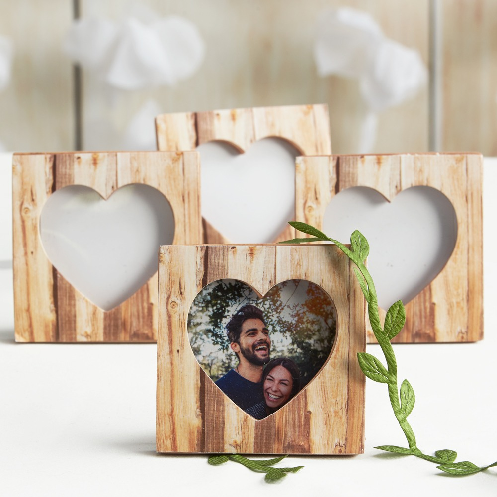 Faux-Wood Place Card Holder/Photo Frame 7707