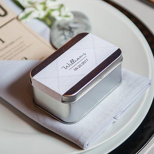 Rectangular Tin Favor Box