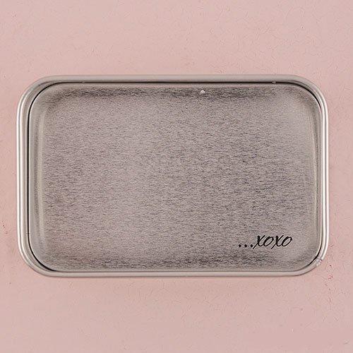 Rectangular Tin Box - Inside Lid