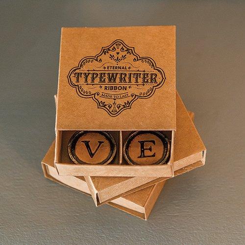 Vintage Typewriter Key Magnets 7807