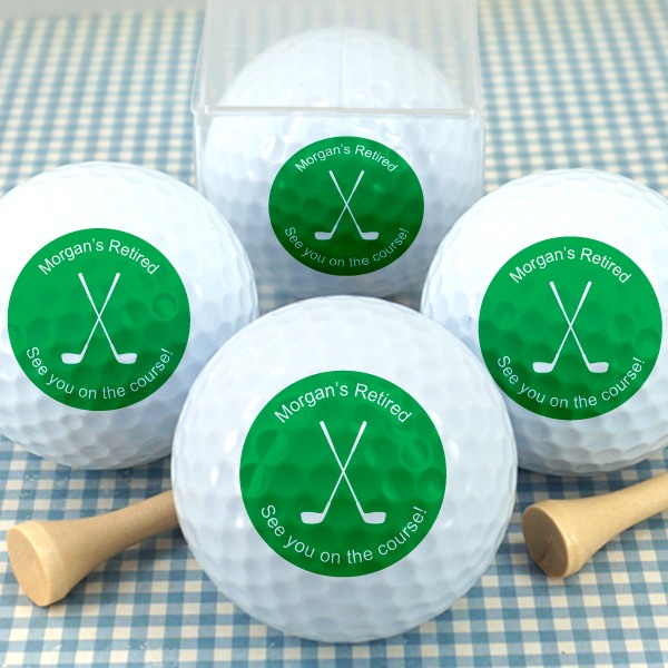 Personalized Party Golf Balls 7829