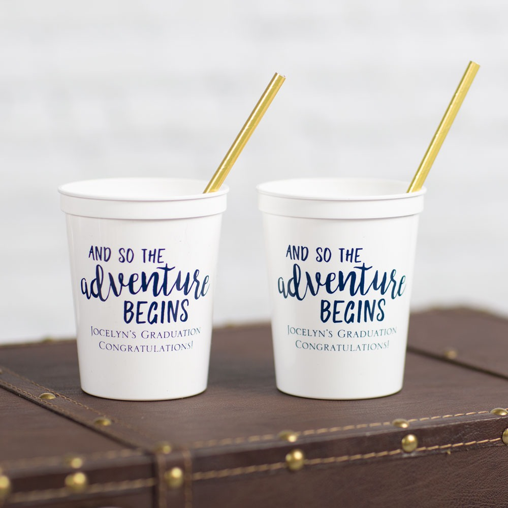 Personalized Party Stadium Cups 7834