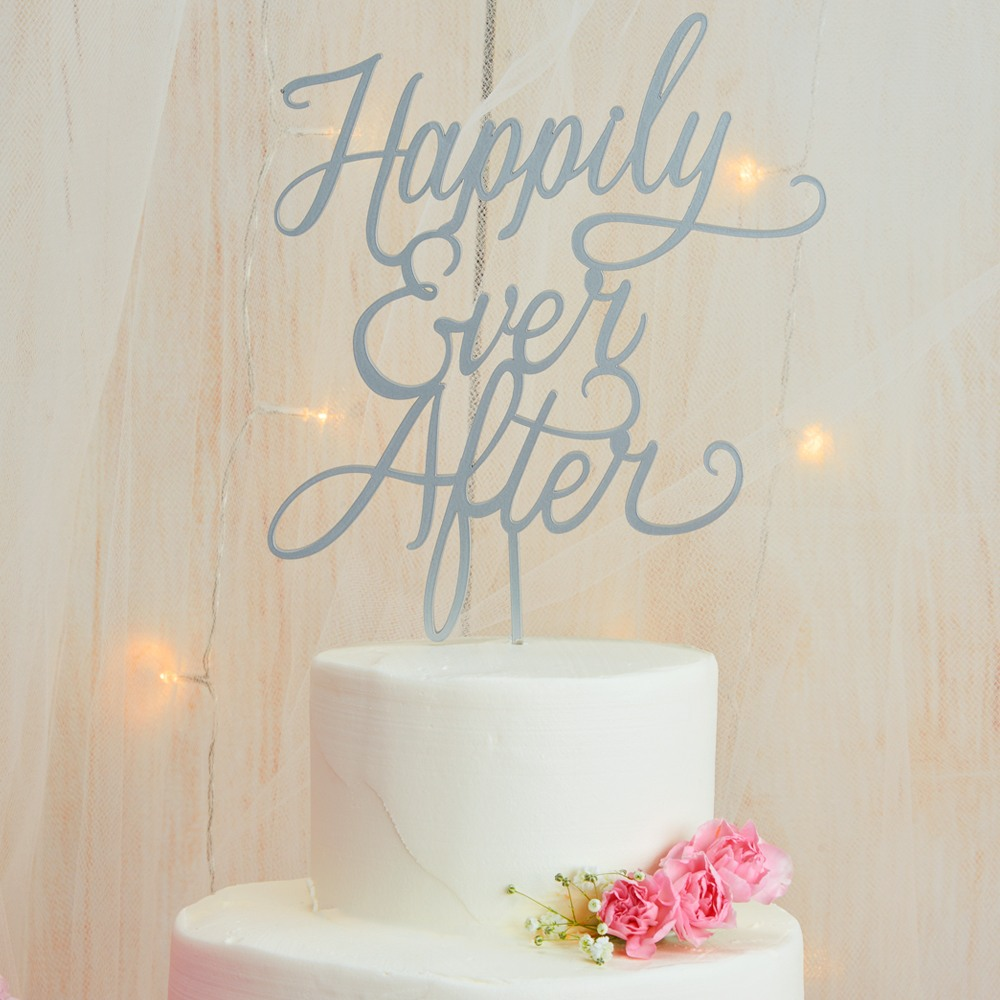 Happily Ever After Cake Topper 7842