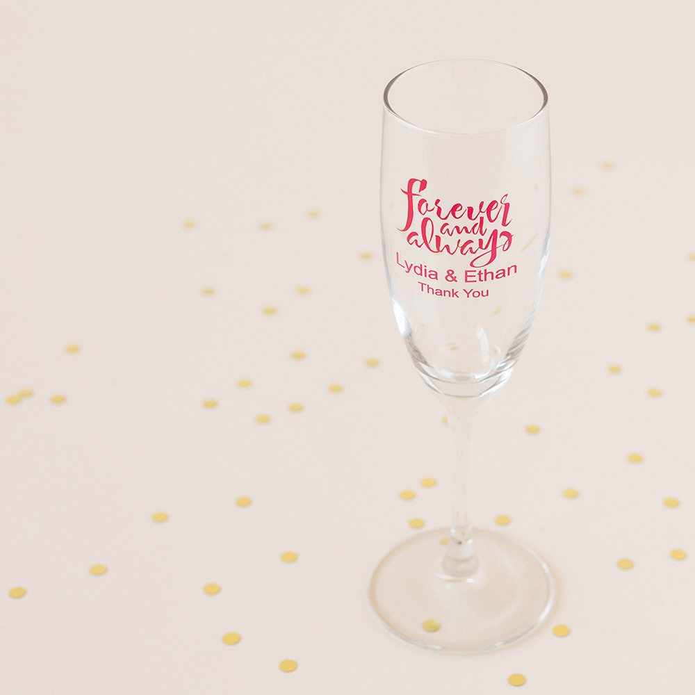 Personalized Forever and Always Flutes