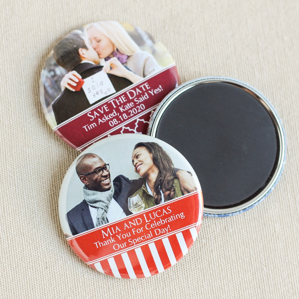Photo Button Magnet