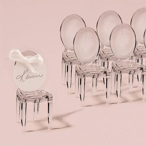 Mini Chair Place Card Holder 8039