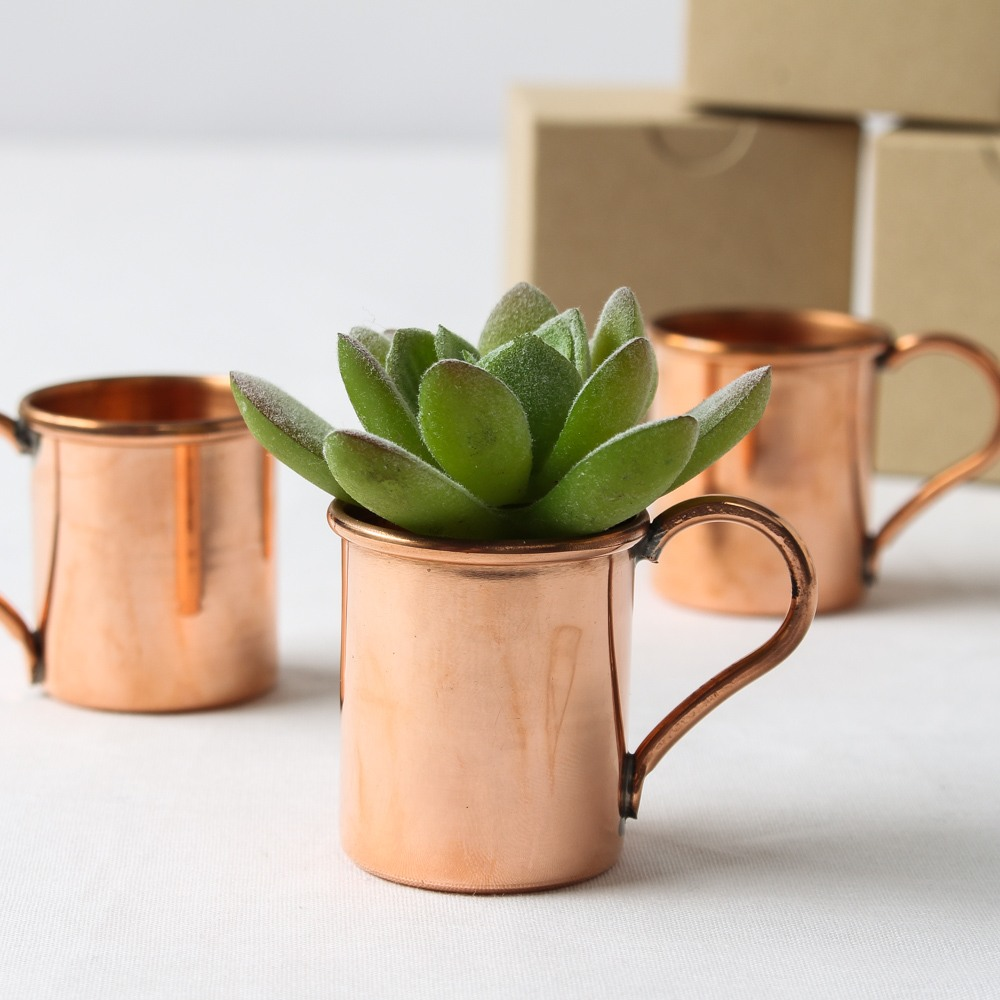Mini Copper Moscow Mule Mug Favors