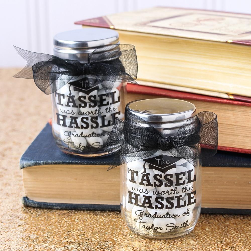 Personalized Printed Party Mini Mason Jars 8073