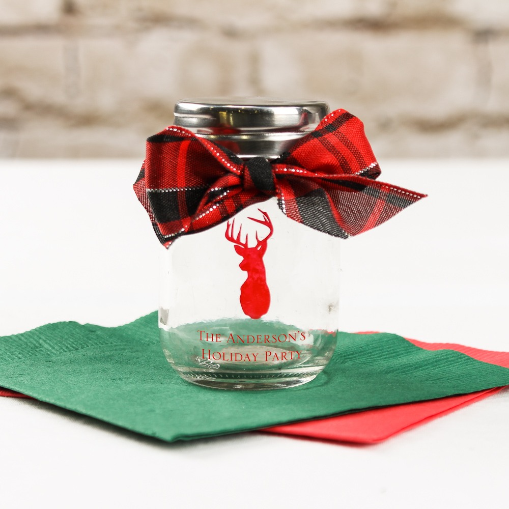 Personalized Printed Party Mini Mason Jar