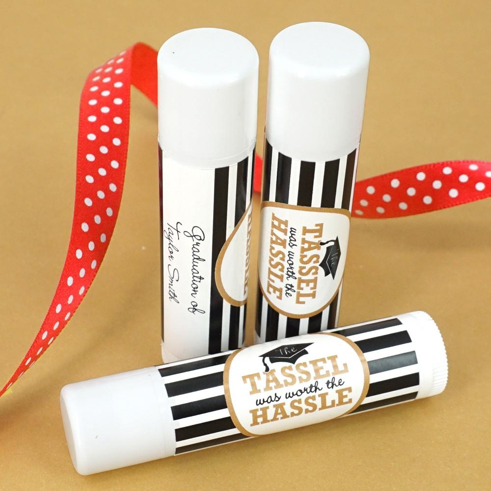 Personalized Lip Balm Favor