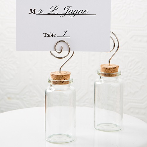 Glass Jar with Place Card