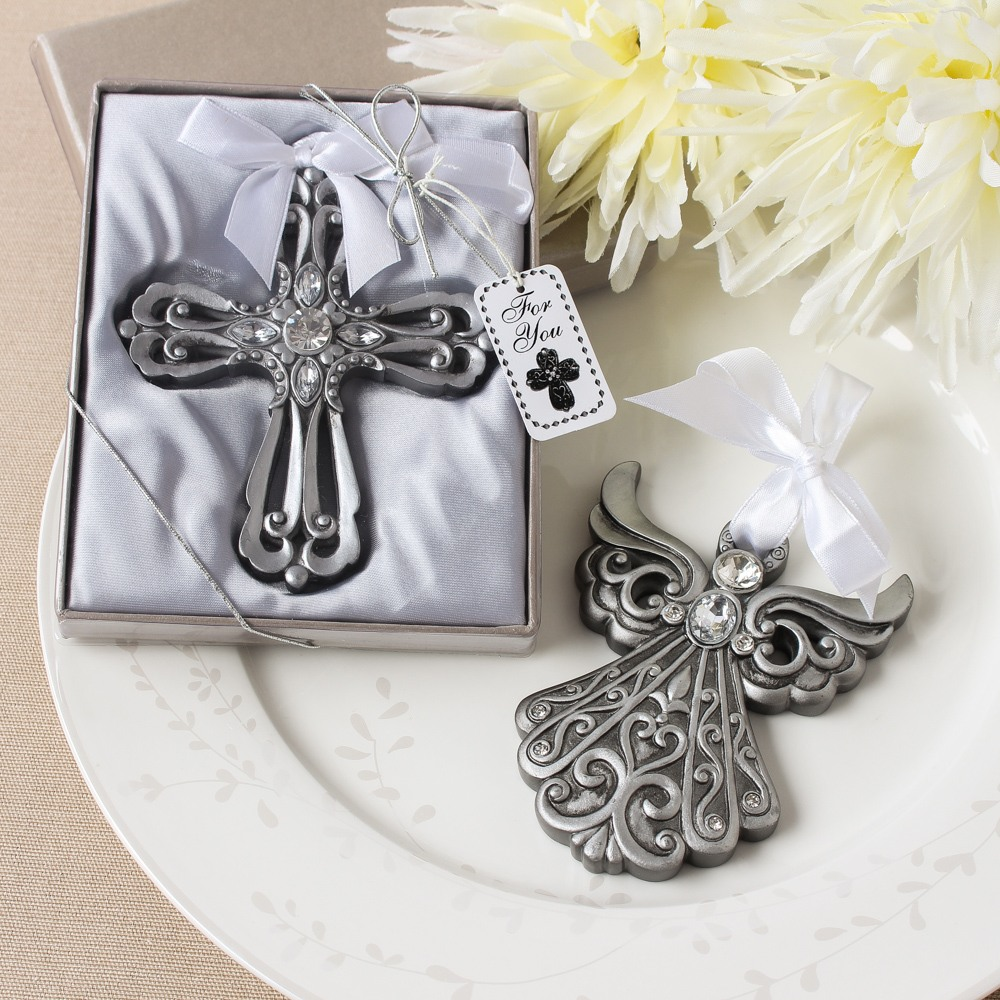 Cross and Angel Ornaments