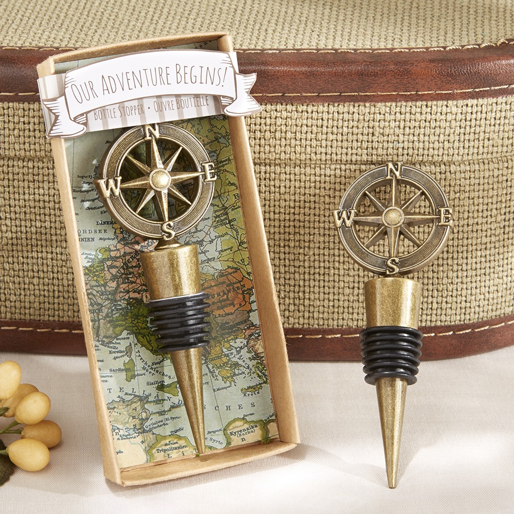 Compass Bottle Stopper 8186