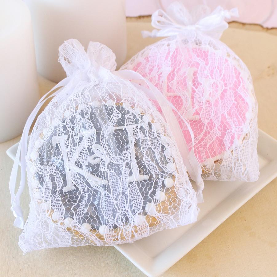 Lace Favor Bags 8263