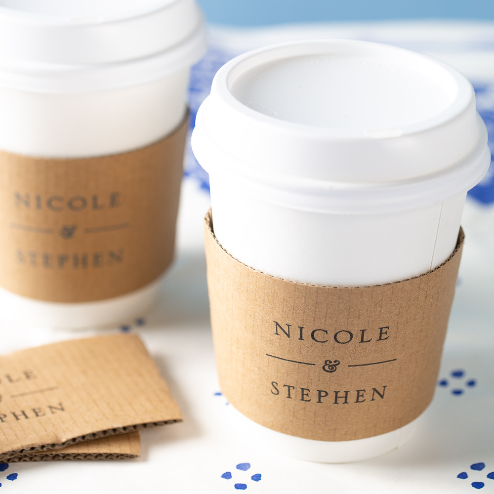 Personalized Coffee Sleeves 8328