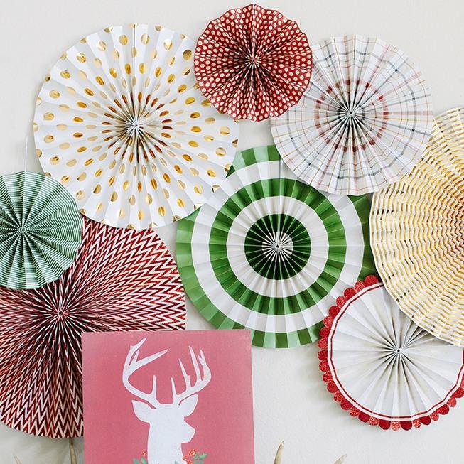Woodland Pinwheel Decorations