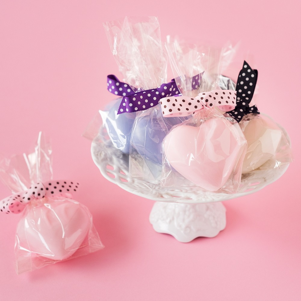 Heart Shaped Soap Favors