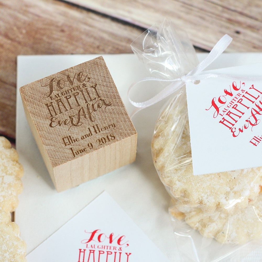 Personalized Love Laughter Stamp
