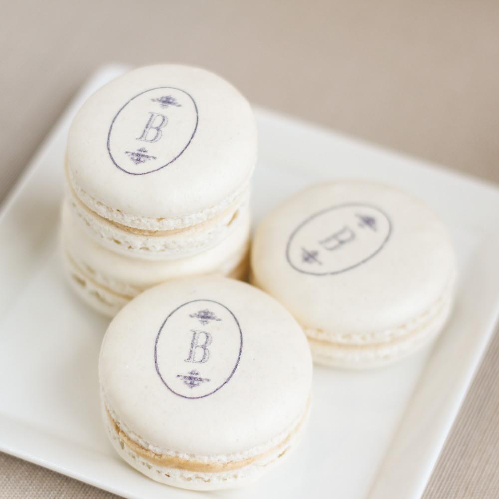 Monogrammed Custom Macarons