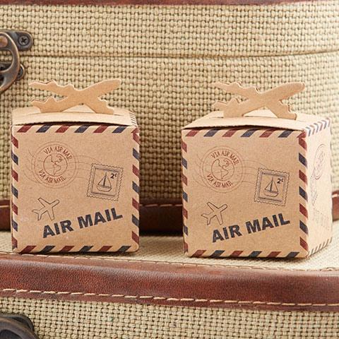 Airplane Kraft Favor Boxes 8722