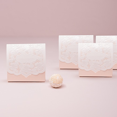 Pretty Lace Favor Boxes