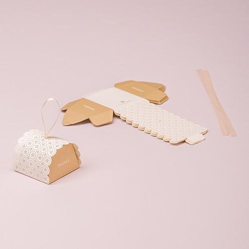 Unassembled Mini Favor Boxes