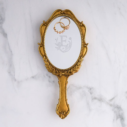 Personalized Vintage Hand Mirror 8760