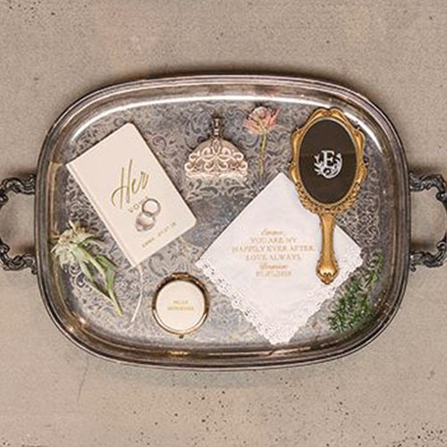 Personalized Vintage Hand Mirror