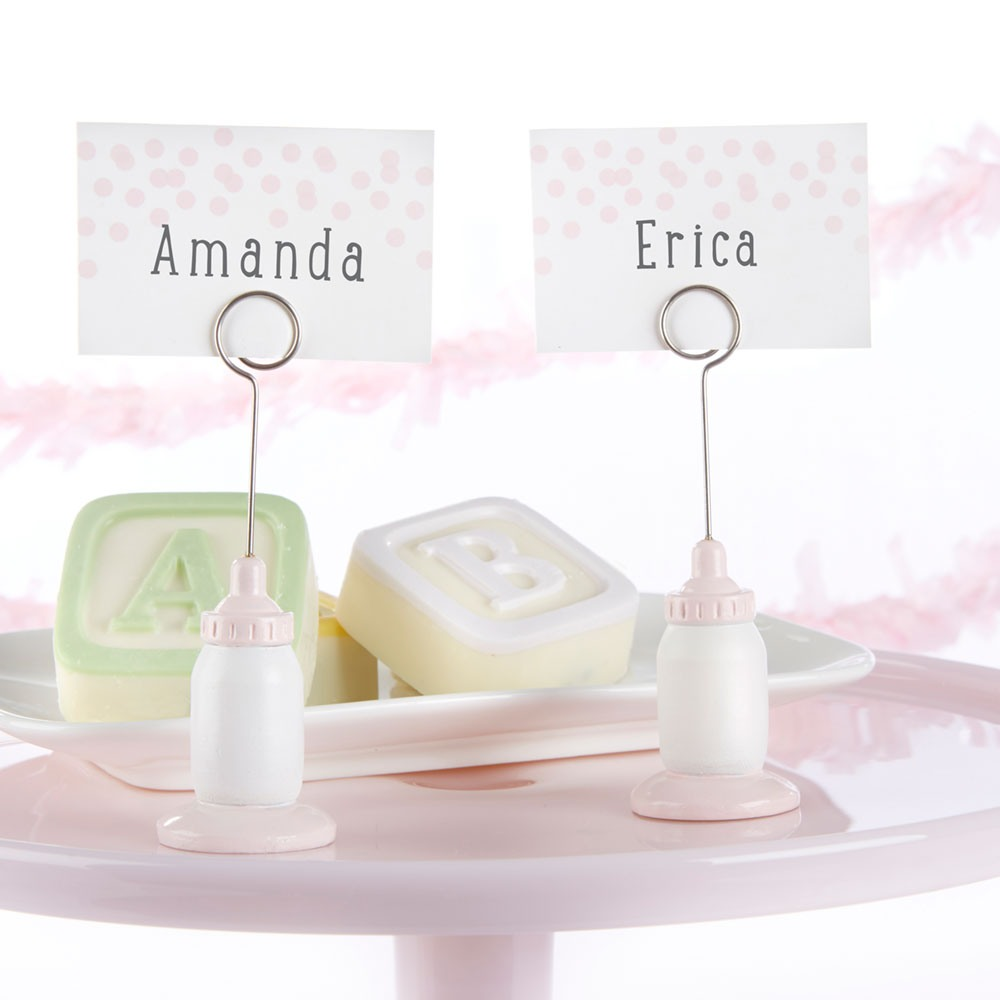 Baby Bottle Place Card Holders 8833