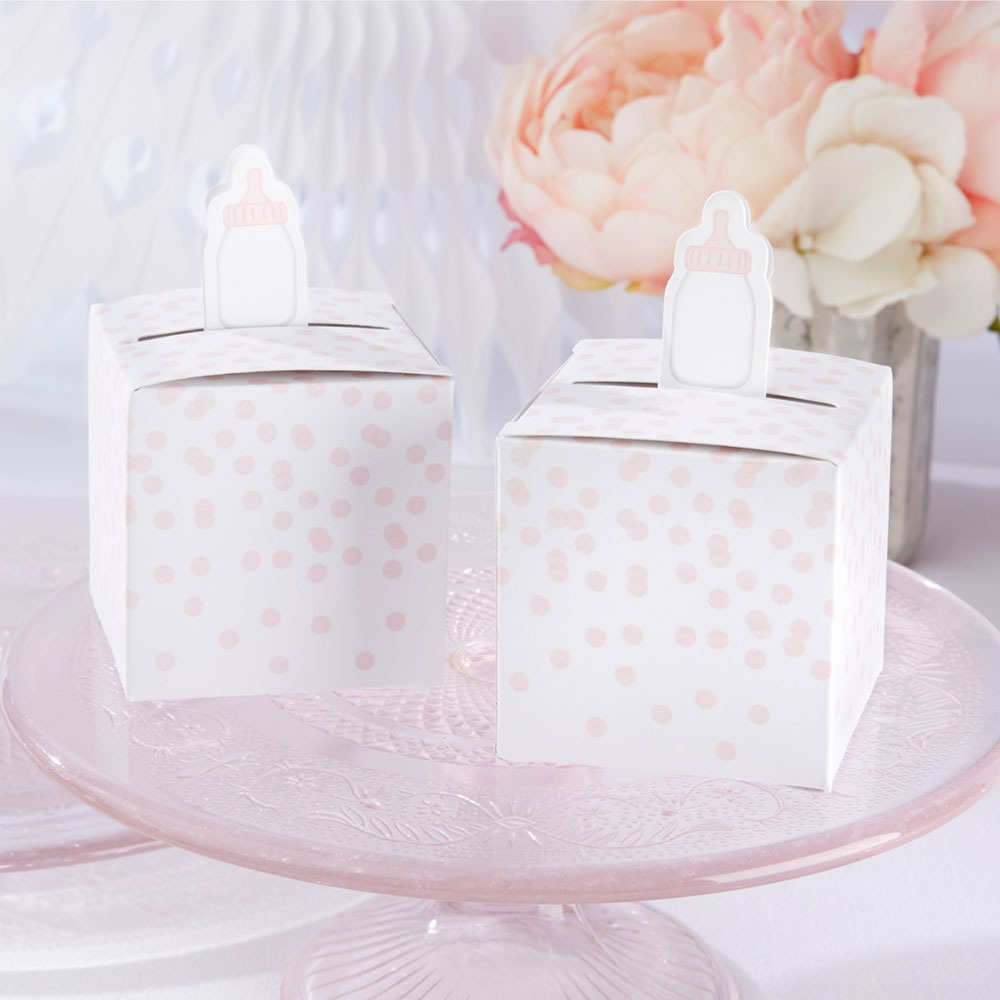 Baby Bottle Favor Boxes 8835