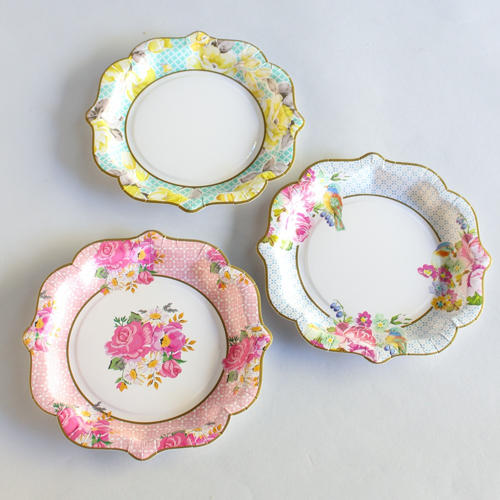 Tea Party Plates 8843