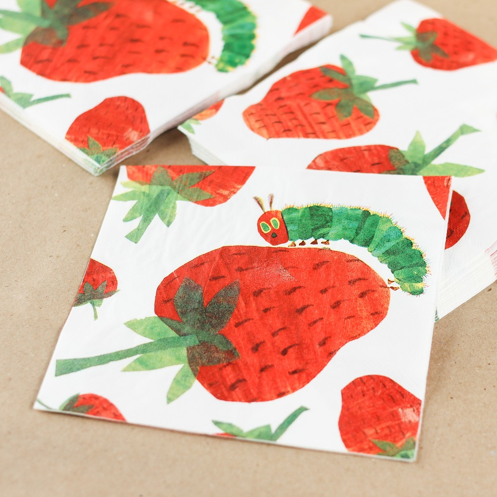 The Very Hungry Caterpillar Party Napkins 8857