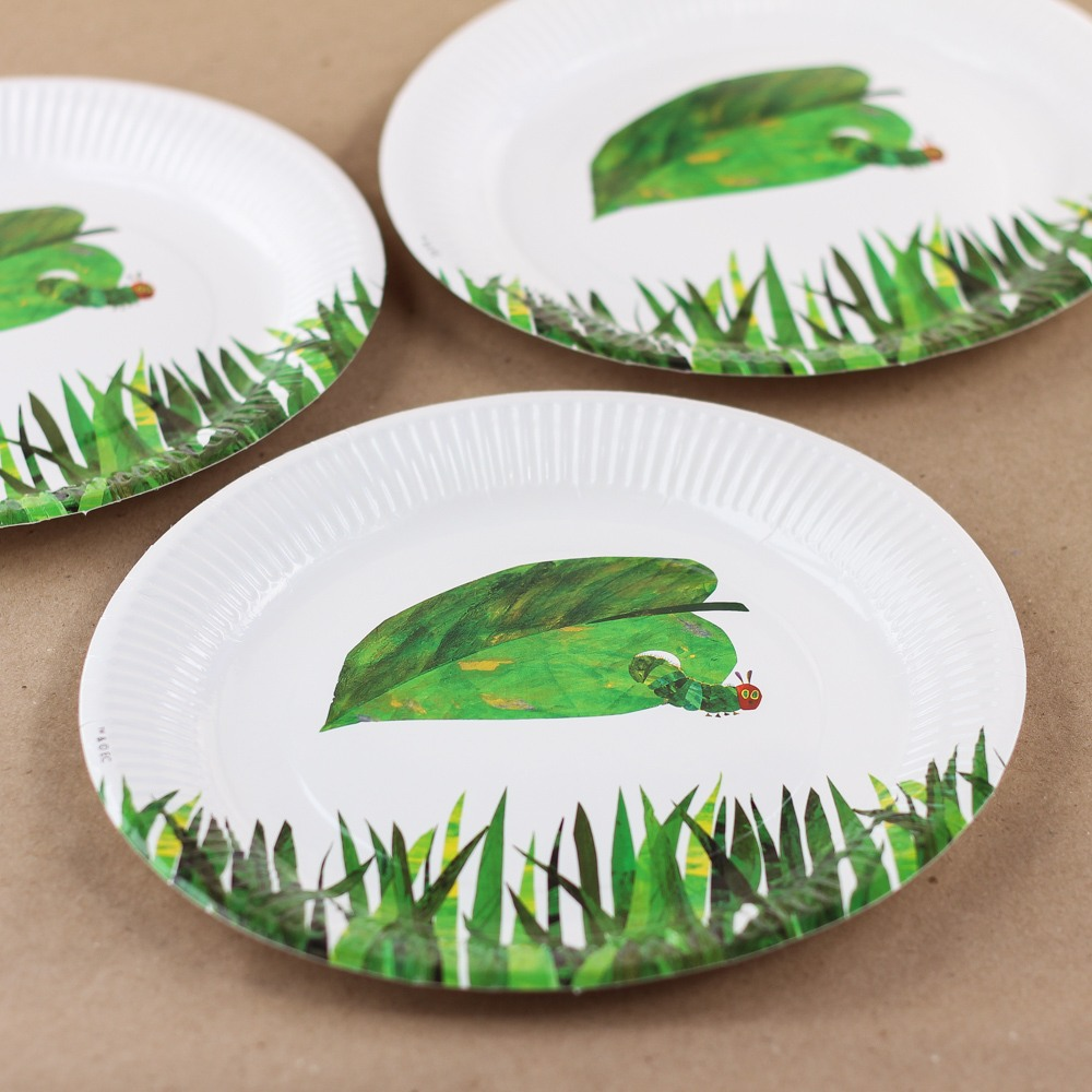The Very Hungry Caterpillar Party Plates 8861