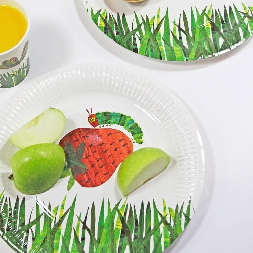 The Very Hungry Caterpillar Party Plate