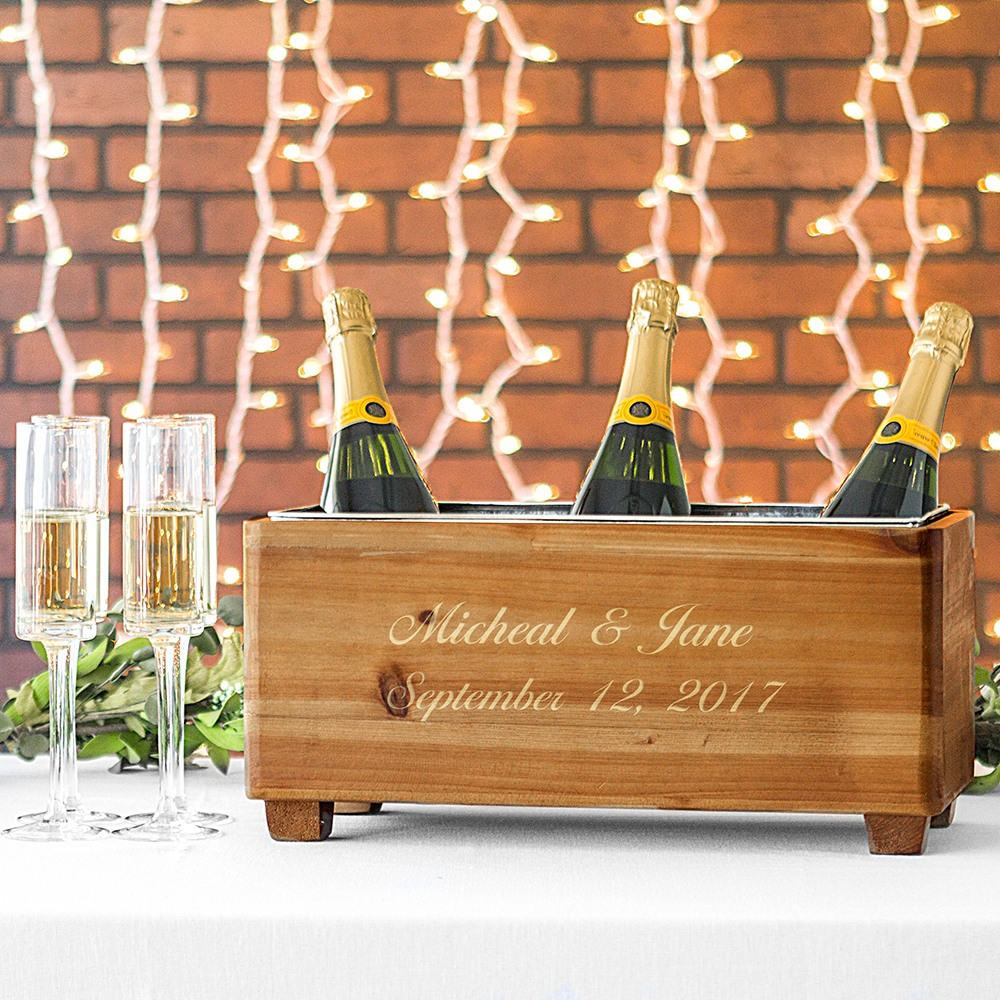 Personalized Wooden Wine Tough