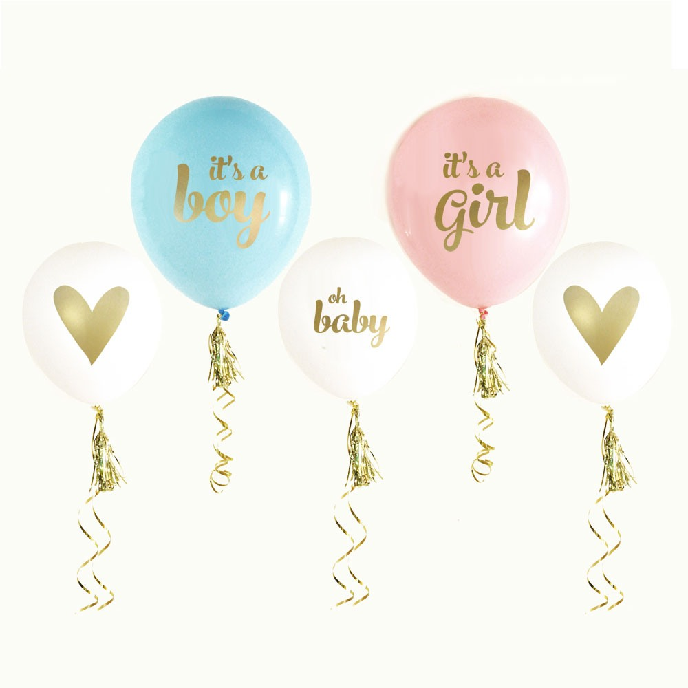 It'S A Boy/Girl Baby Shower Balloons 8886