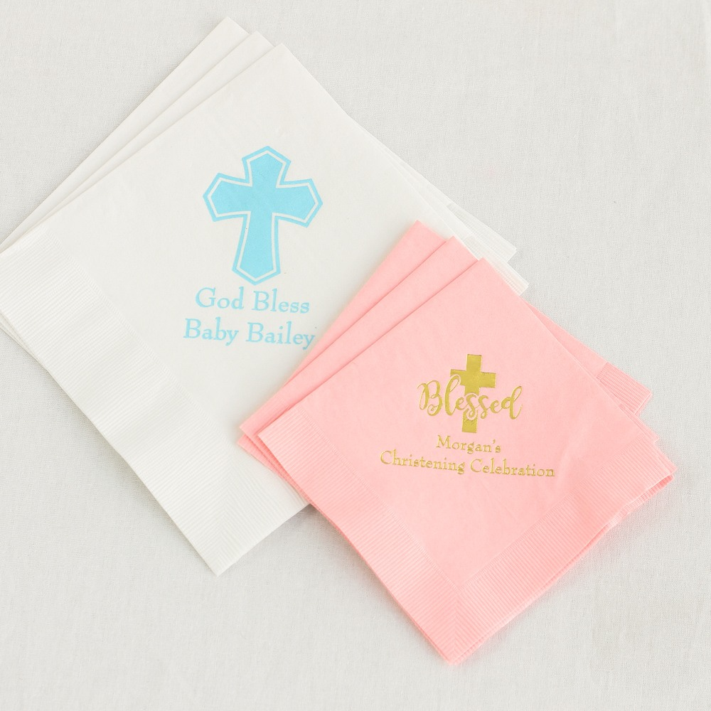 Personalized Exclusive Religious Party Napkins