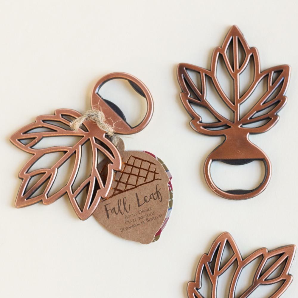 Copper Leaf Bottle Opener 9125
