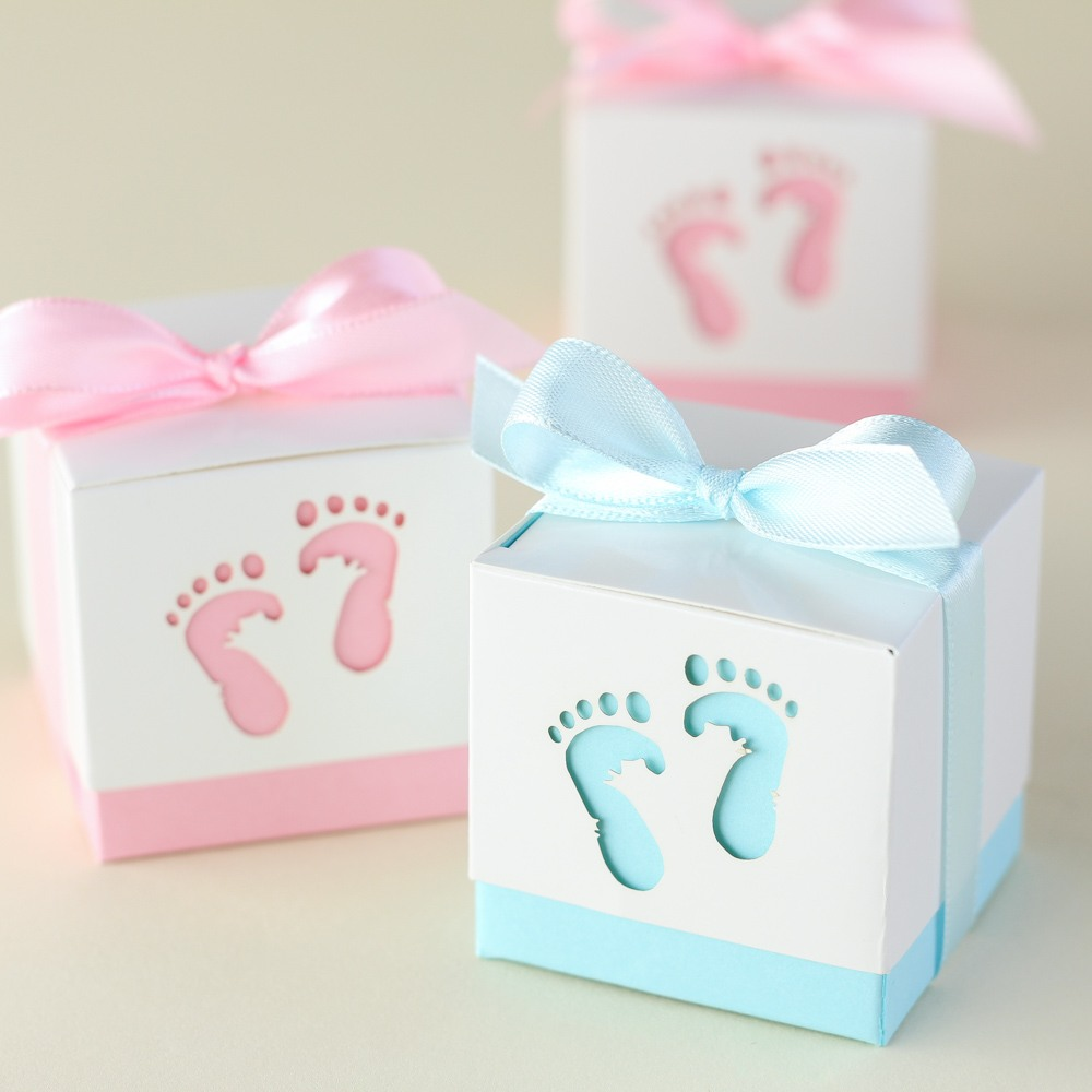 Baby Feet Favor Boxes 9277